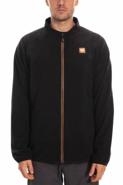 Civil Fleece Jacket Black