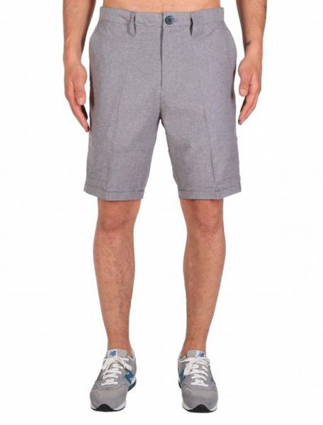 Golfer Chambray Short Grey Mel