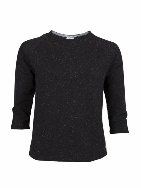 Grace Sweater black melange