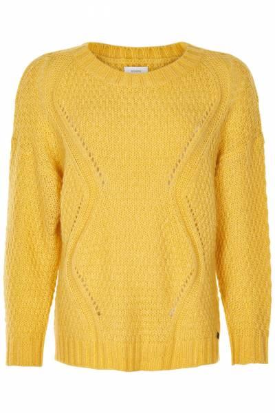 Mattie LS Pullover Cream Gold