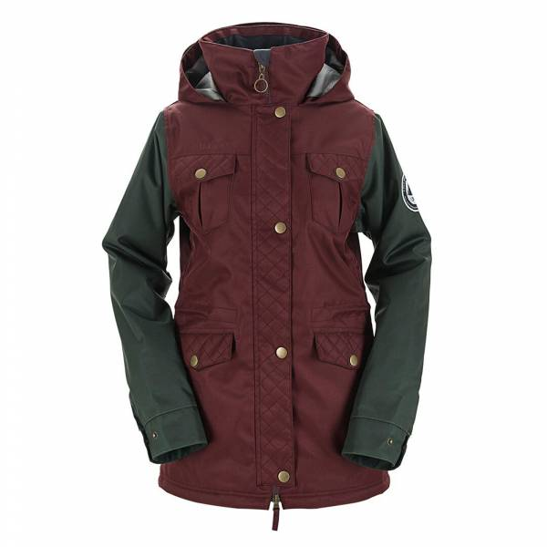 Brunswick Womens Jacket Maroon
