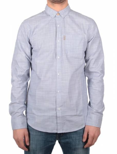 Irie City LS Shirt white melan