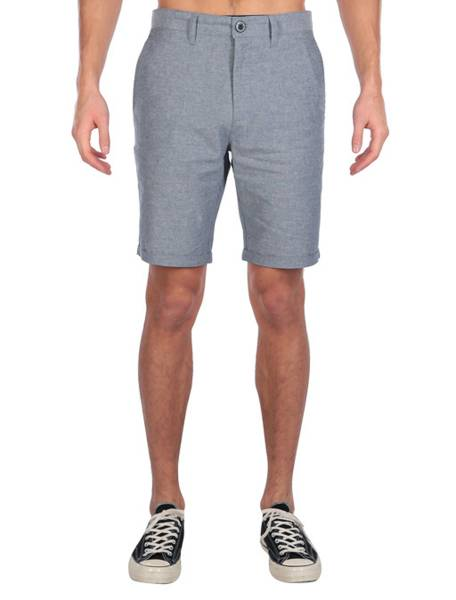 Golfer Chambray Short Jeansblu
